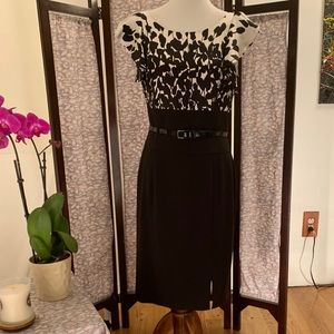 White House Black Market cap sleeve dress.